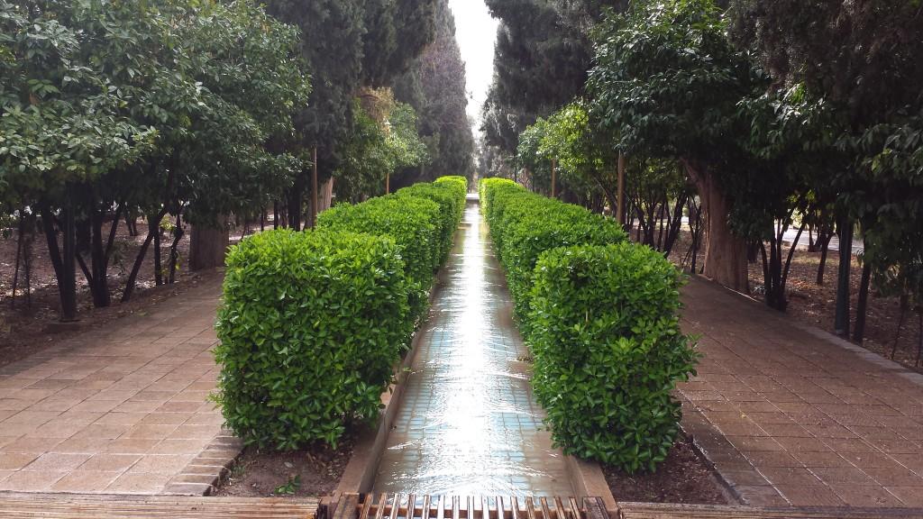 Eram garden waterway
